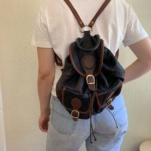 Unique Genuine Italian Leather Backpack